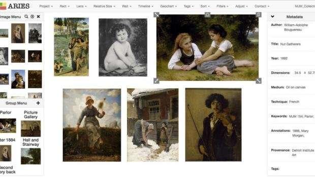 New platform by NYU Tandon, Frick, brings art history research into the digital age