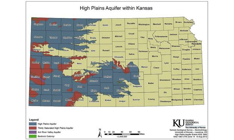 New report assesses health of the High Plains aquifer