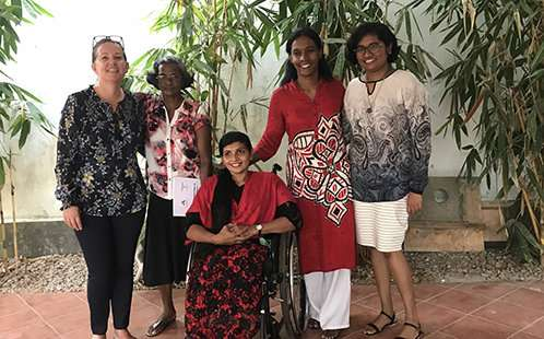 New report brings sri lankan women living with a disability out of the shadows