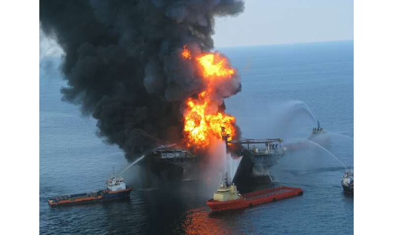 New study found deep sea chemical dispersants ineffective in Deepwater Horizon oil spill