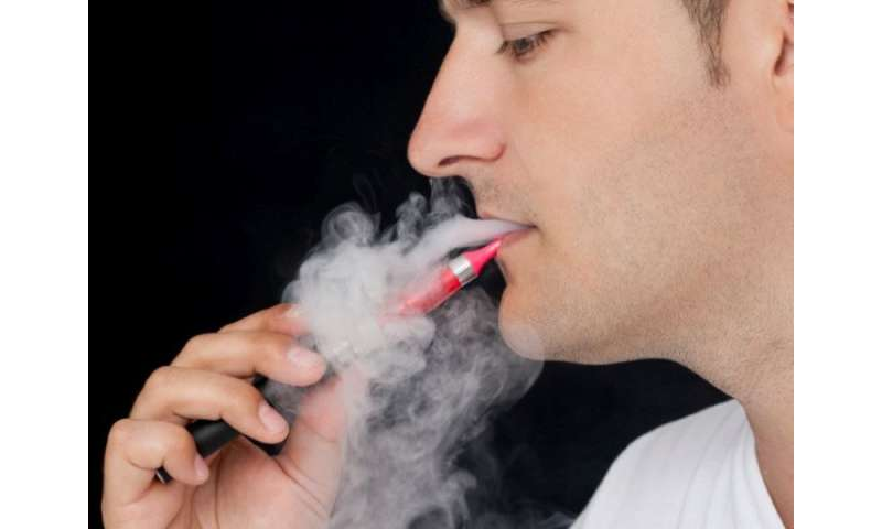 Nicotine in E-cigarettes might cause cancers, mouse study suggests