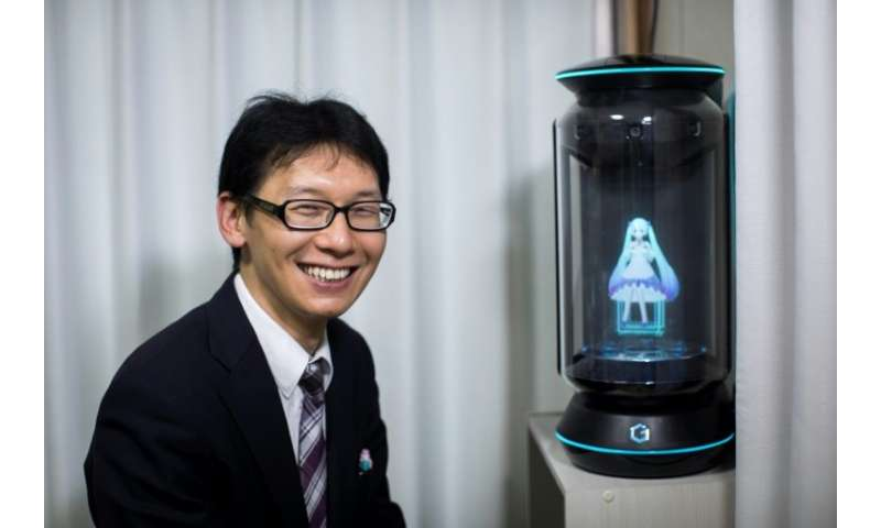 None of Akihiko Kondo's relatives attended his wedding to a hologram of virtual reality singer Hatsune Miku