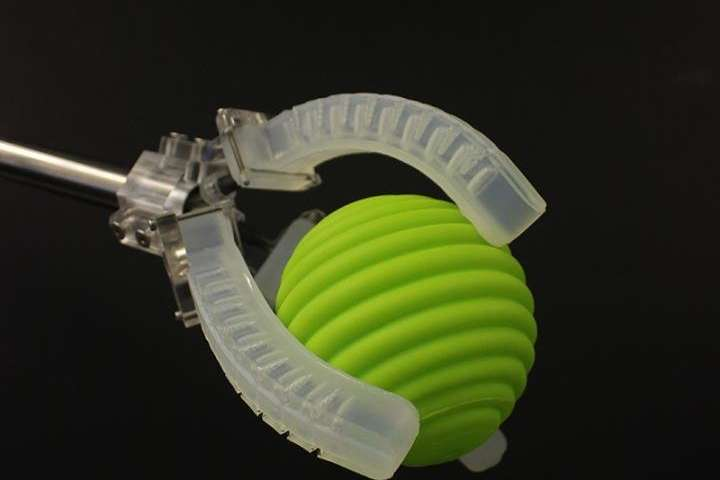 Novel 3-D printing method embeds sensing capabilities within robotic actuators