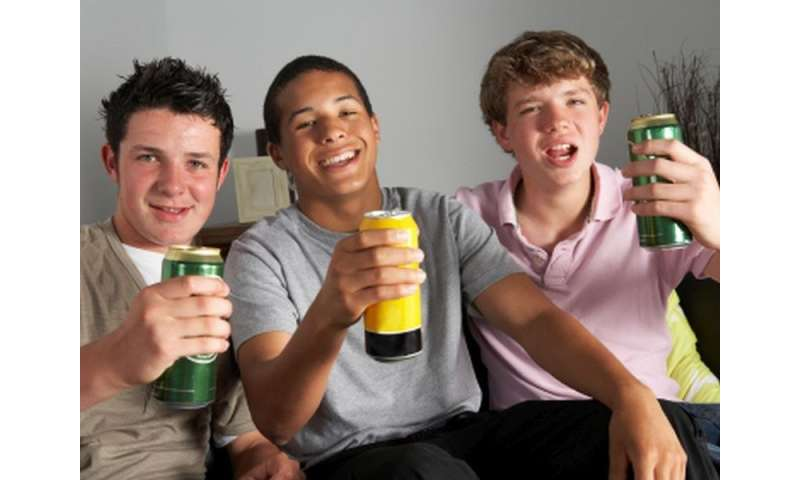 Number of drinks predicts teens' other risky behaviors