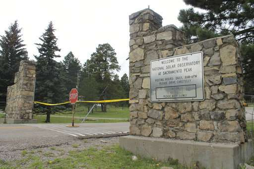Officials shed little light on closure of solar observatory