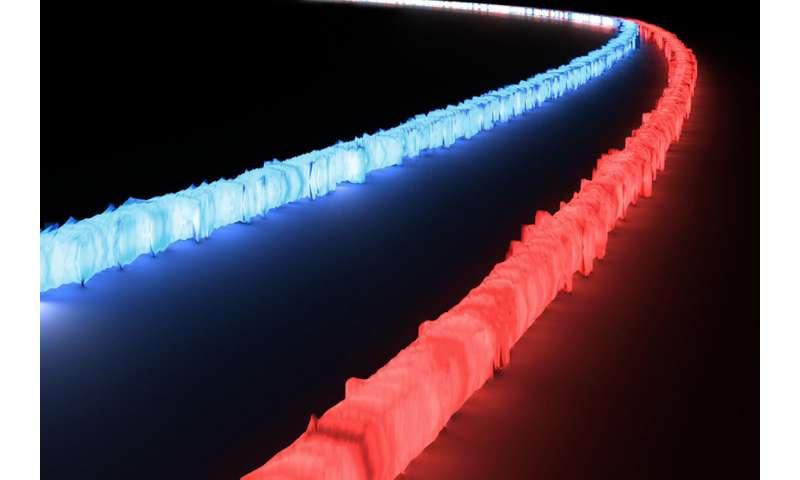 On-chip optical filter processes wide range of light wavelengths
