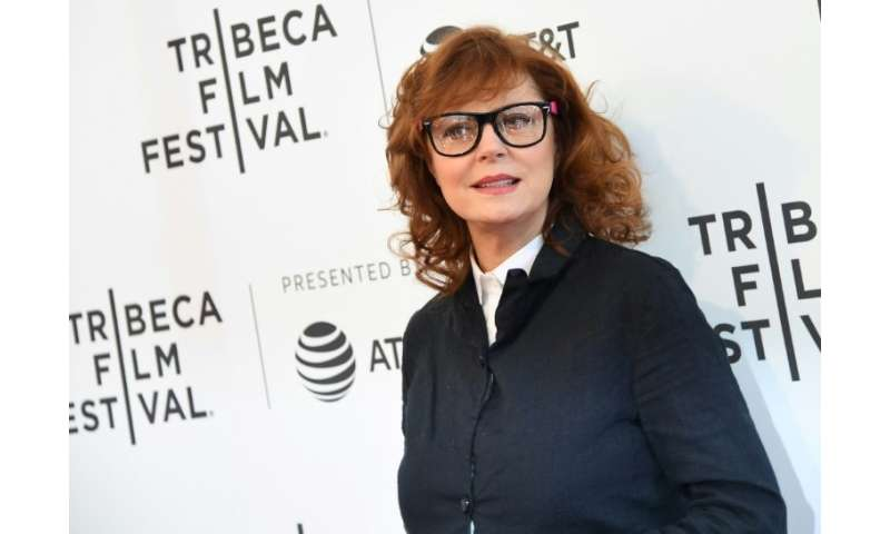 Oscar winner Susan Sarandon—shown here at the premiere of 'Bombshell: The Hedy Lamarr Story' during the 2017 Tribeca Film Festiv