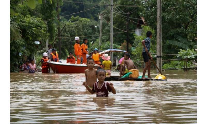 Over 118,000 people have sought refuge in camps following the monsoon flooding