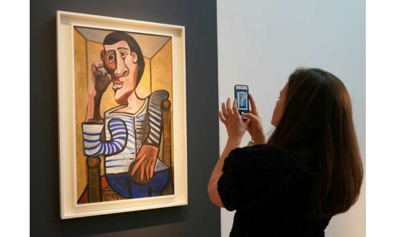 "Pablo Picasso's Le Marin has been withdrawn from a Christie's auction of impressionist and modern art after it was ""acciden"