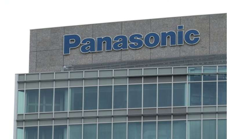 Panasonic is reporting a rise in first-quarter profits