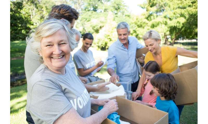 Parent and grandparent relationships play an important role in encouraging altruistic acts – new research
