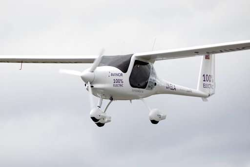 Peek at the future: Electric plane cruises skies over Norway