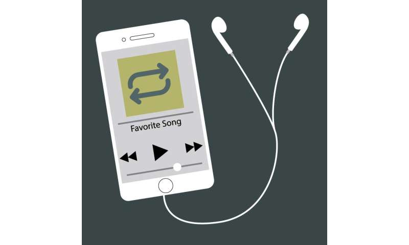 People find comfort listening to the same songs over and over, study finds