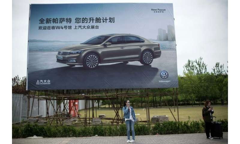 Volkswagen Makes Bneuro Bet On Electric Cars In China - Who makes audi cars