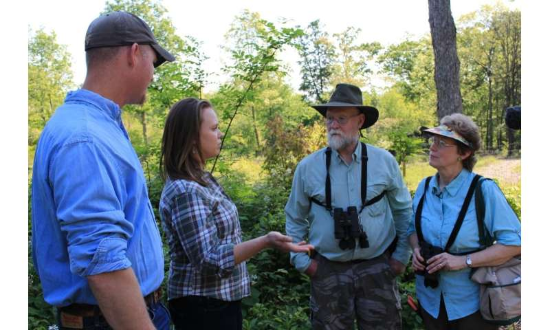 Personal outreach to landowners is vital to conservation program success