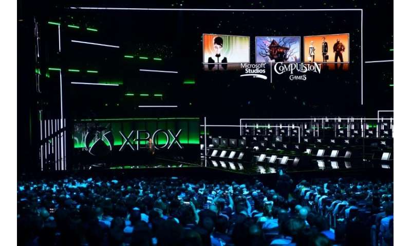 Phil Spencer, Executive President of Gaming at Microsoft addresses the audience at the Xbox 2018 E3 briefing in Los Angeles, Cal