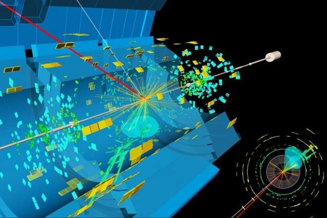 Physicist Philip Harris first observes the long-predicted Higgs boson decay