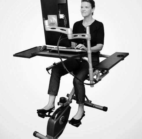 Pilot study suggests pedal desks could address health risks of sedentary workplace