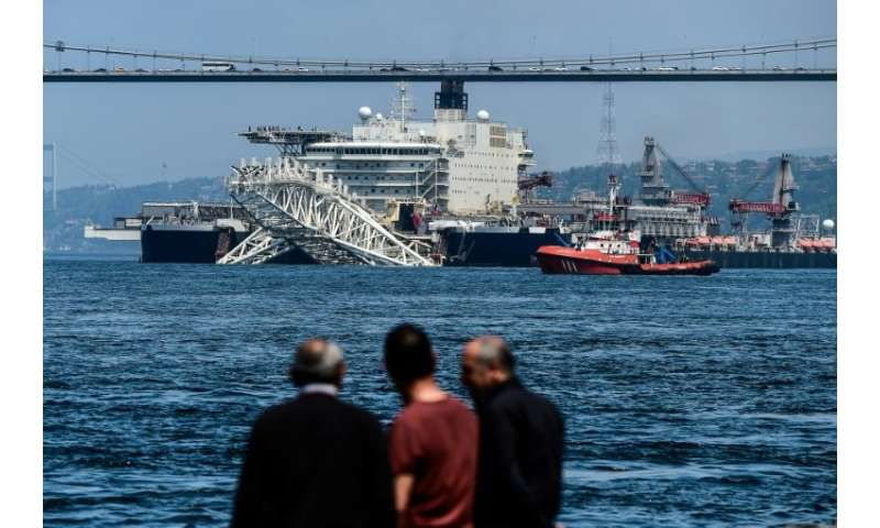 Pioneering Spirit is the size of several football pitches