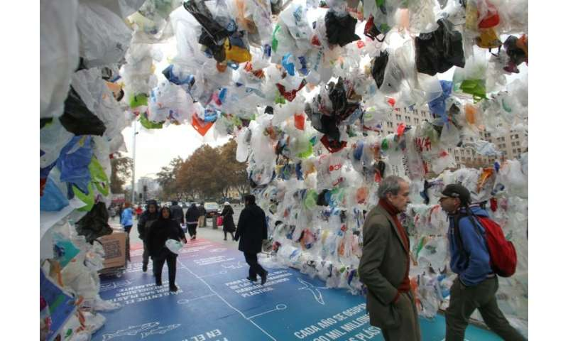 Plastic bags will soon become a thing of the past in Chile following Friday's historic announcement