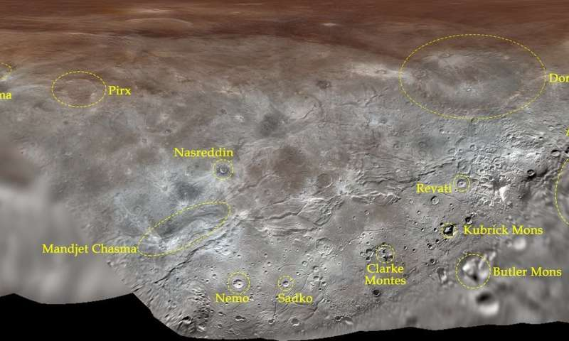 Pluto's Largest Moon, Charon, Gets Its First Official Feature Names