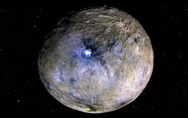 Polar wandering on dwarf planet Ceres revealed