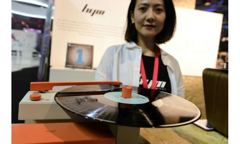 Portable record turntables are making a comeback, too