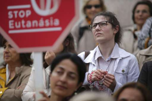 Portugal's parliament to vote on bills legalizing euthanasia