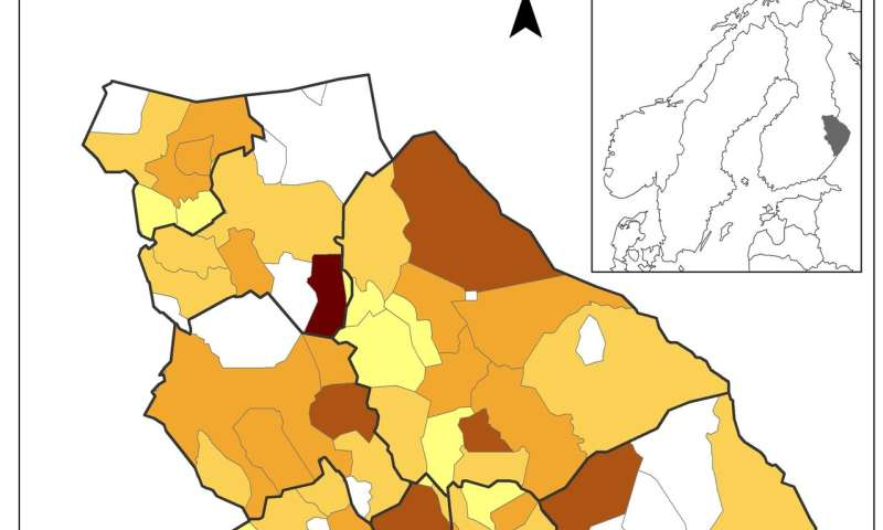 Postal code area data can help in the planning of cost-effective health care services