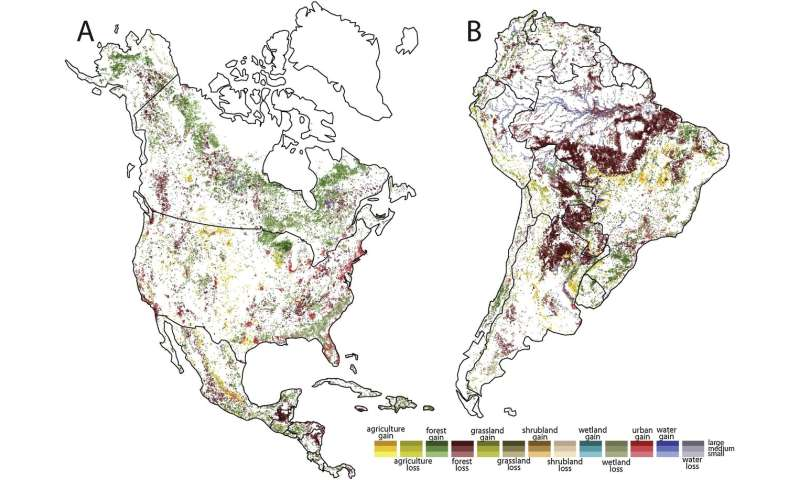 Powerful new map depicts environmental degradation across Earth on
