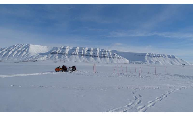 Predicting the fate of oil spills in Arctic sea ice