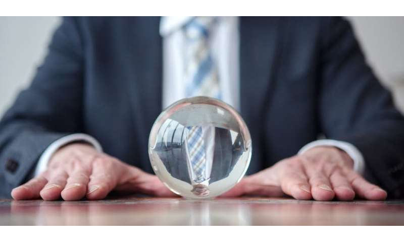 Predictive algorithms are no better at telling the future than a crystal ball