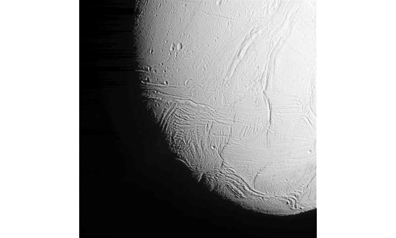 Microbes can thrive in the ocean on Saturn moon Enceladus