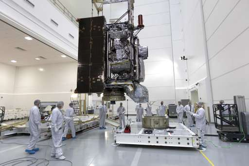 Problem with new US weather satellite could affect pictures
