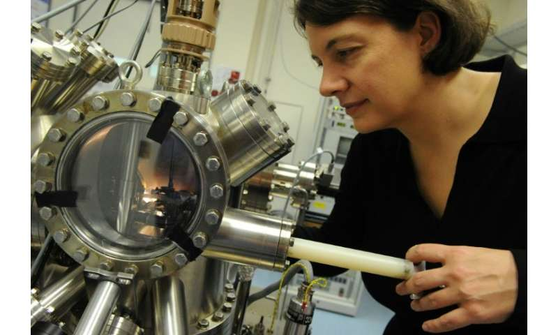 Professor Michelle Simmons and her team at the University of New South Wales in 2012 created the world's first transistor made f