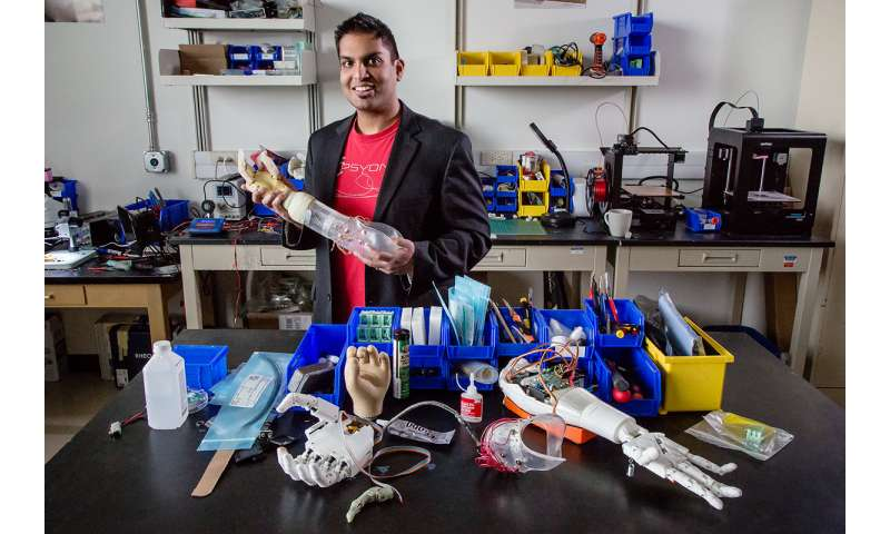 Prosthetic arms can provide controlled sensory feedback, study finds