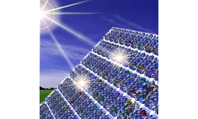 Psst! A whispering gallery for light boosts solar cells