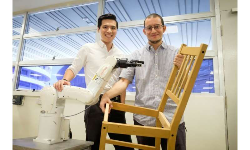 """For a robot, putting together an IKEA chair with such precision is more complex than it looks,"" said team leader Pham"