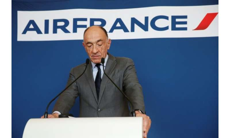 """""""I accept the consequences of this vote and will tender my resignation to the boards of Air France and Air France-KLM in co"""