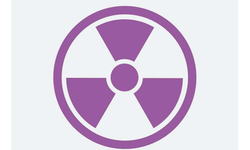 Testing radiation resistance without using a nuclear reactor
