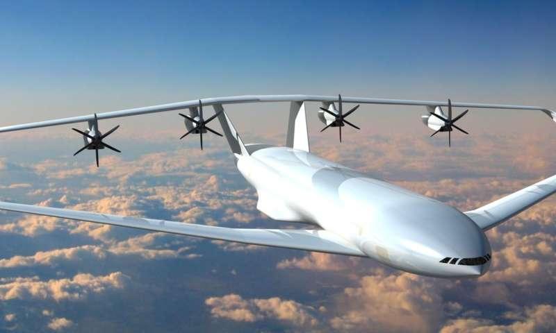 Radical closed-wing aircraft design could see greener skies take flight