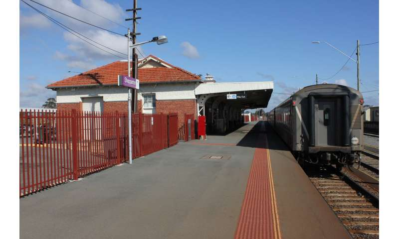 Rail access improves liveability, but all regional centres are not equal