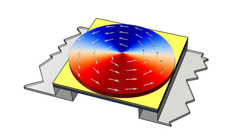 Realization of high-performance magnetic sensors due to magnetic vortex structures