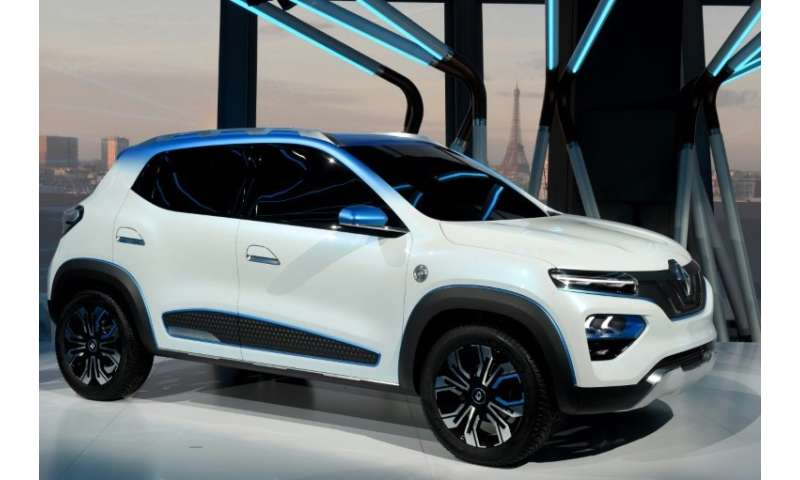 Renault's aiming the K-ZE at the Chinese market
