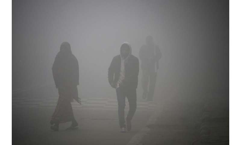 Restrictions on construction sites and traffic will be imposed by the authorities in Delhi when the air quality falls in the meg
