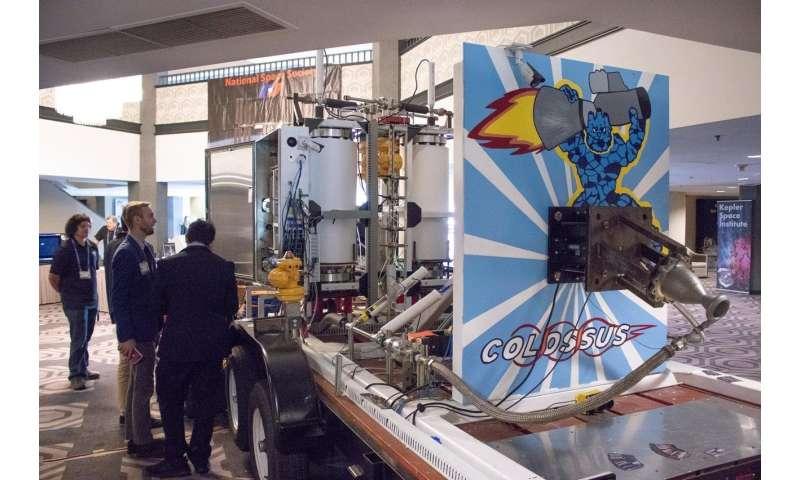 Rocket development gets a 'colossal' boost