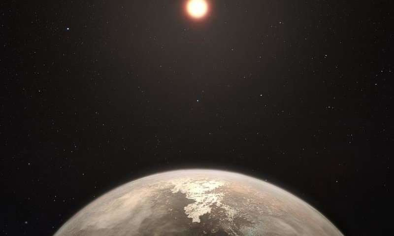 Rocky planet neighbor looks familiar, but is not Earth's twin Rockyplanetn