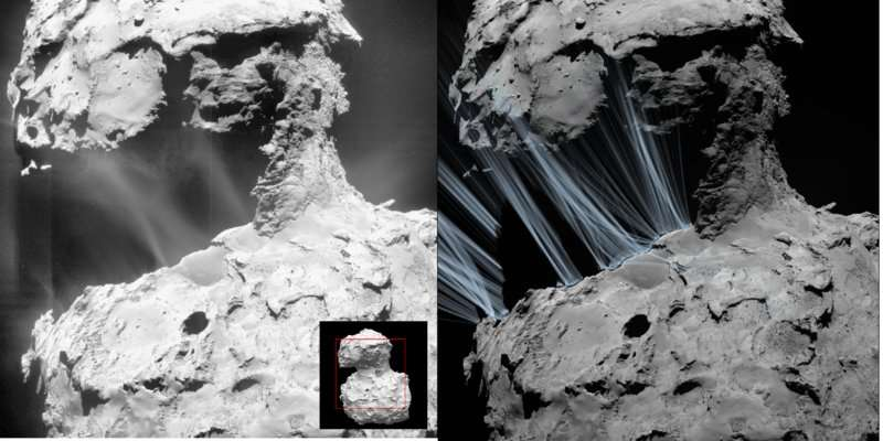 Rosetta unravels formation of sunrise jets
