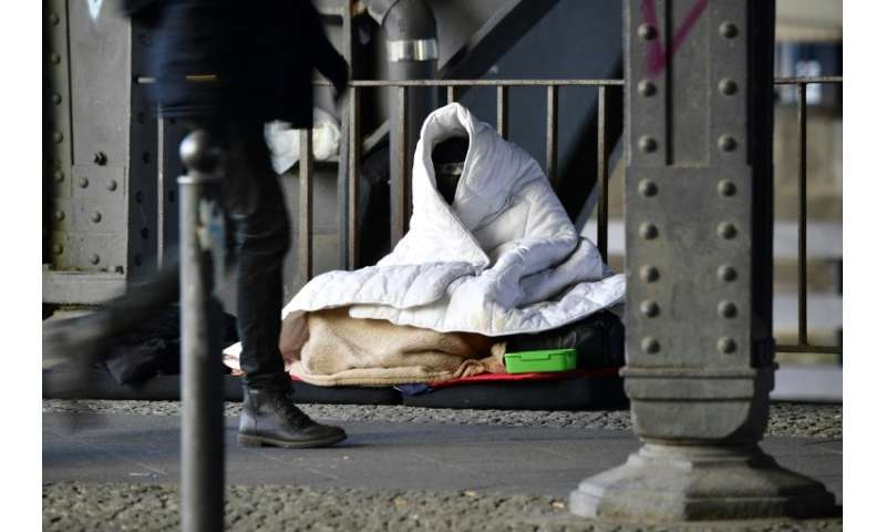 Rough sleepers were among the most vulnerable