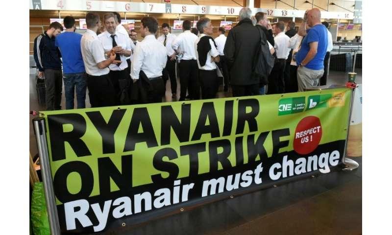Ryanair is facing industrial action in several European countries